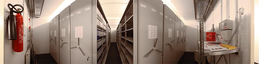 Panorama Archivraum